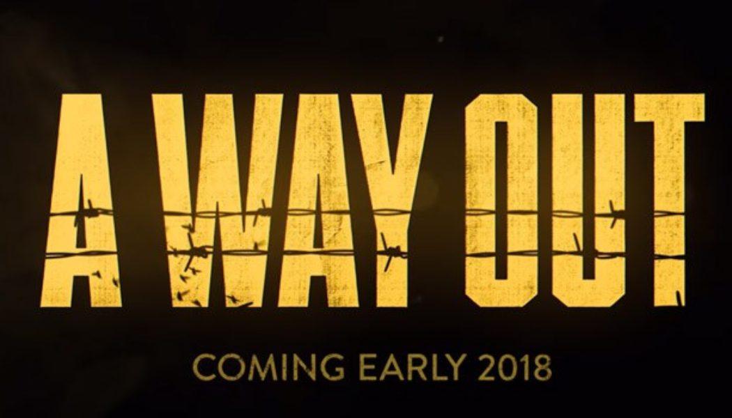 EA Announces 'A Way Out', A Unique Co-op Adventure