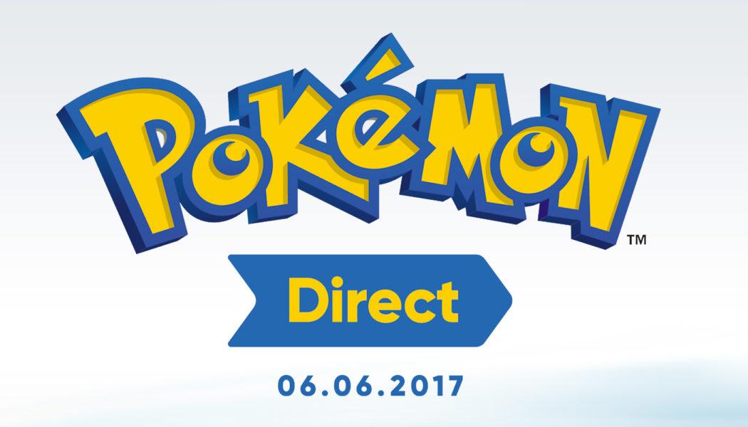 Nintendo Announces Pokémon Direct Coming on 6th June