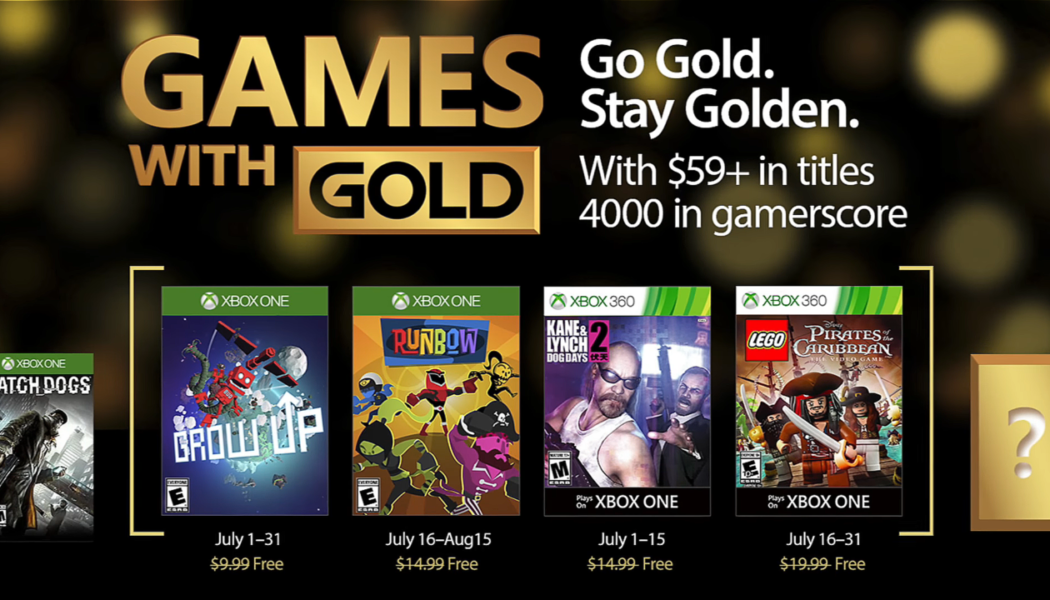 Xbox Games With Gold: Free Games for July 2017