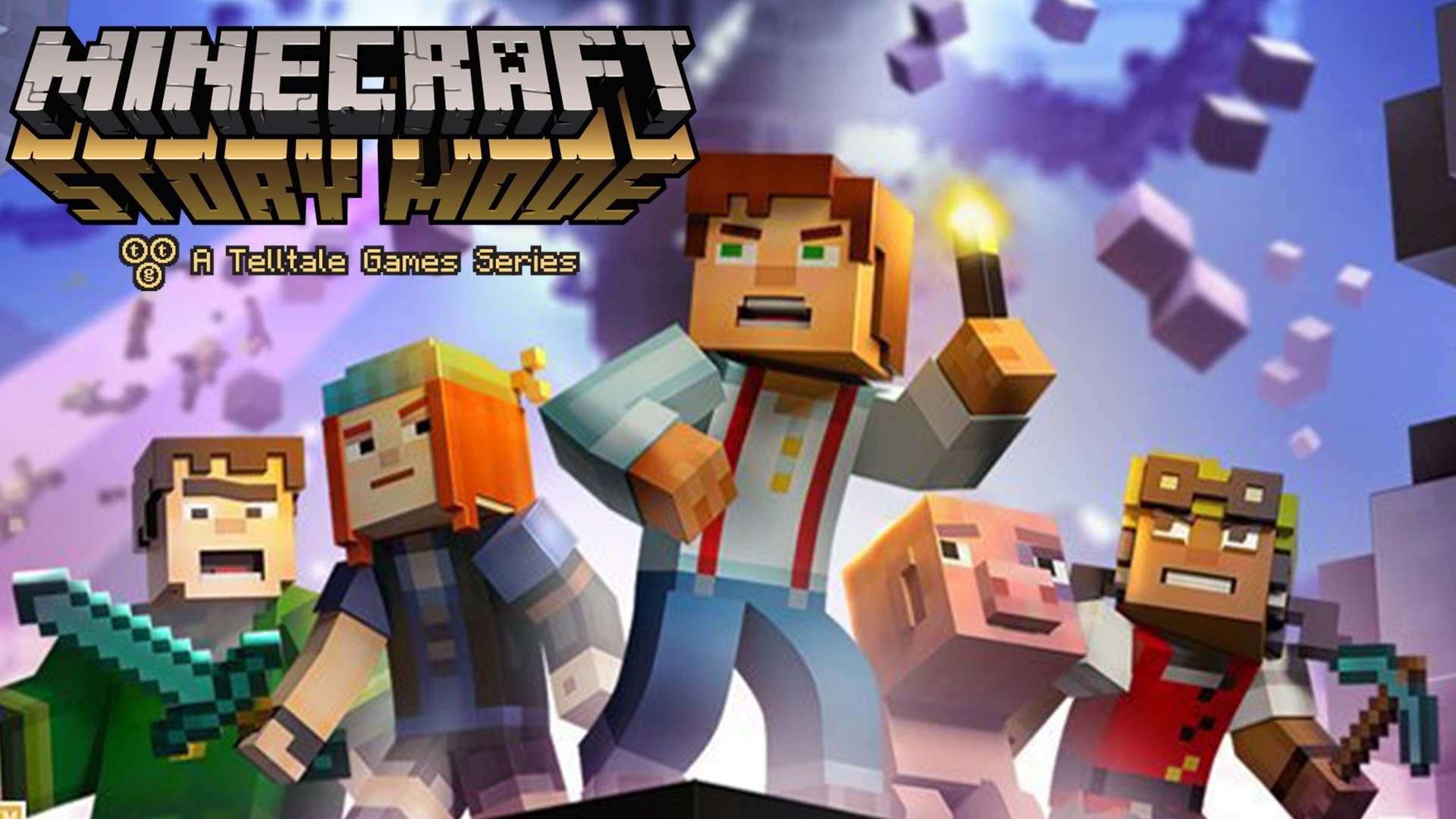 minecraft story mode season two first trailer gaming central