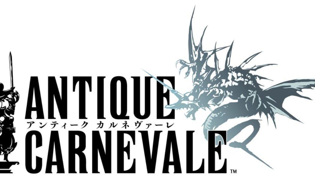 Antique Carnevale Announced by Square Enix