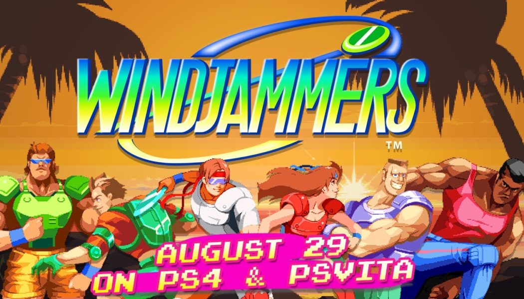 Windjammers Launches August 29 on PS4 and Vita