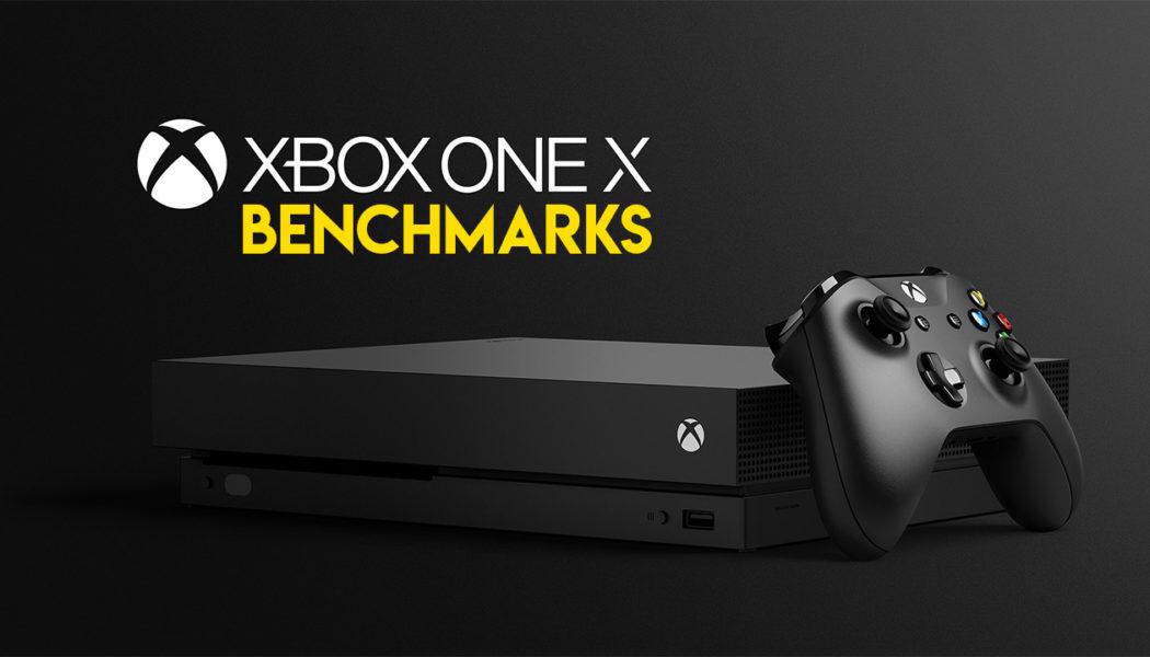 Xbox One X Benchmarks Revealed, They're Pretty Impressive