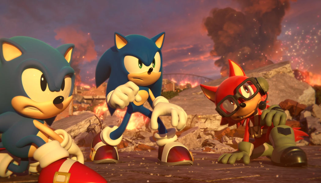 Sonic Forces Main Theme Song Unveiled