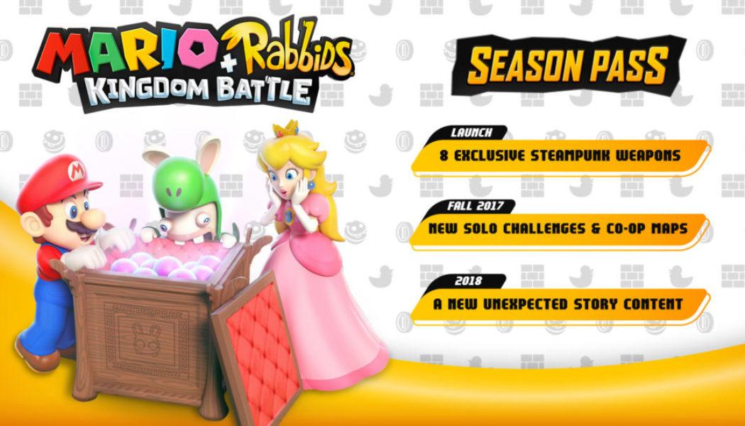 Mario + Rabbids Season Pass Revealed