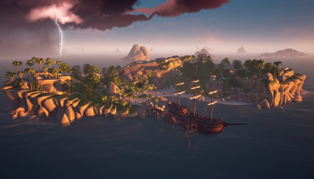 Sea Of Thieves Gets Cross Play Support For Xbox And Windows 10