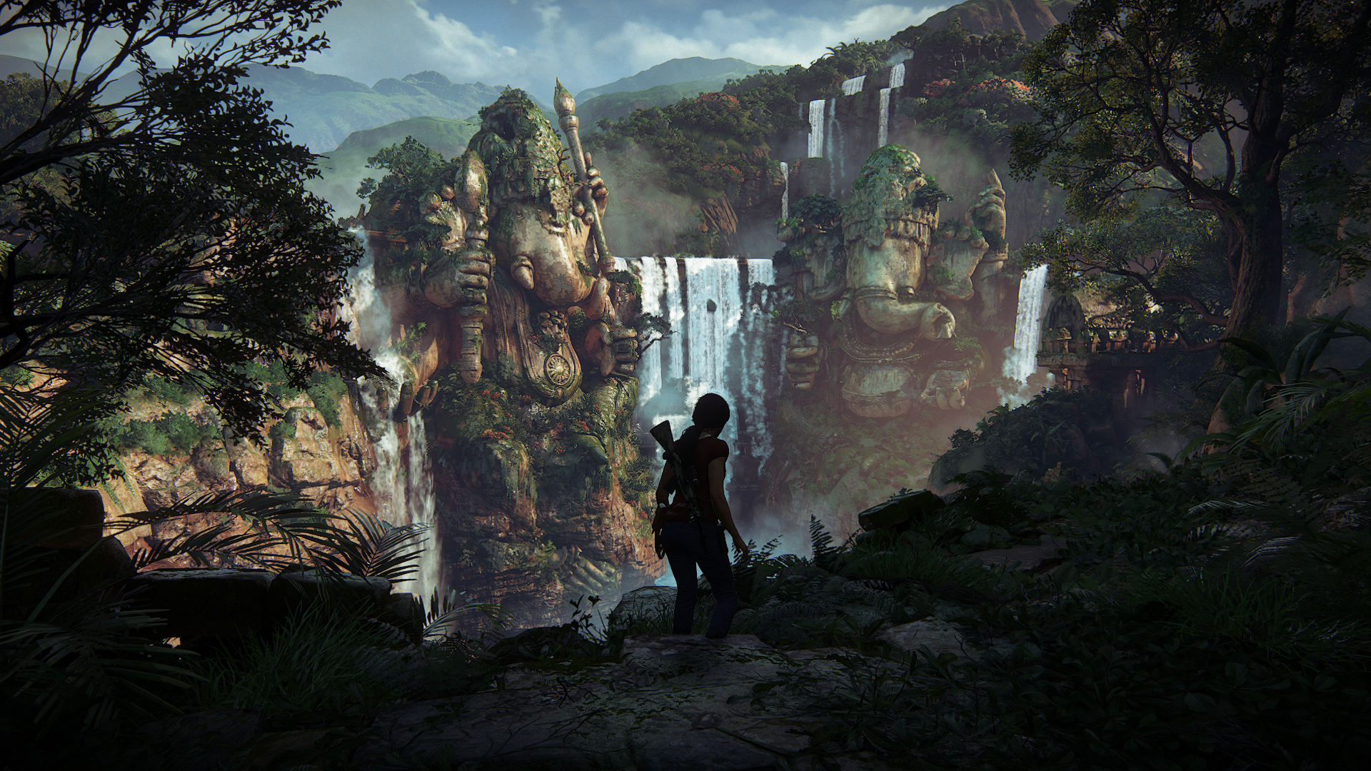 Uncharted Lost Legacy Wallpaper: Uncharted: The Lost Legacy In-Game Screenshots Are