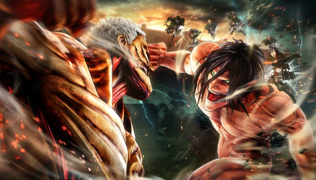 Koei Tecmo's Attack on Titan 2 to Launch for PS4, Xbox One, Switch & PC in the West