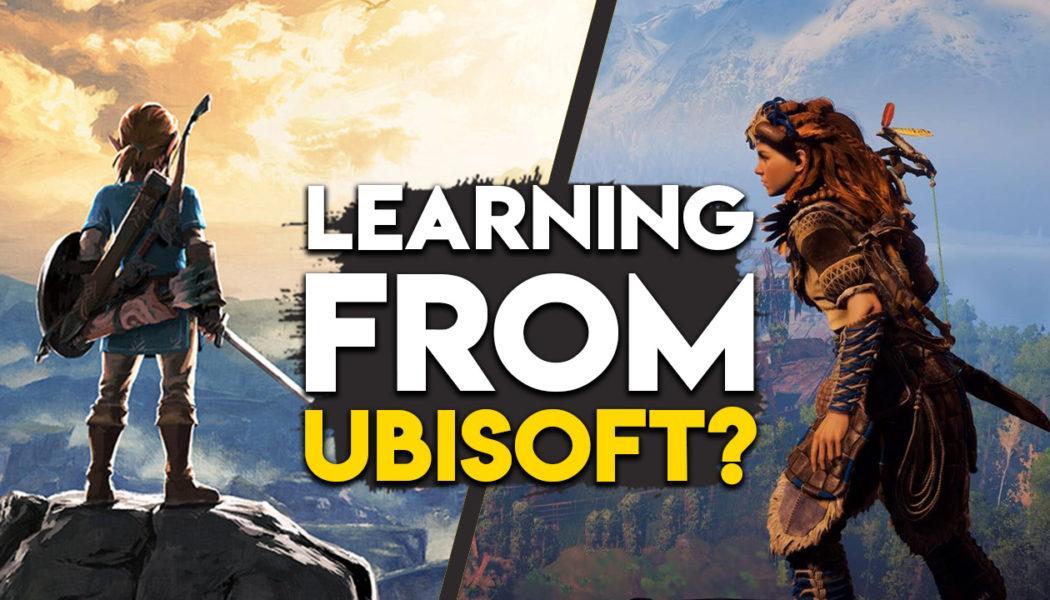 Ubisoft Says Zelda & Horizon Zero Dawn Borrowed From Their Open World Games