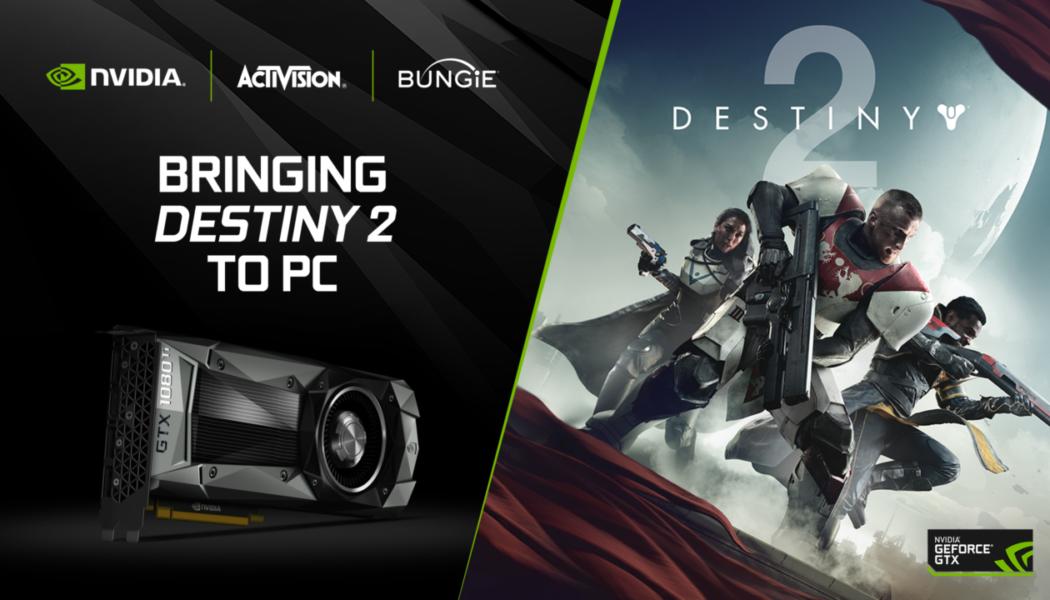 NVIDIA Announces Destiny 2 Bundle With GTX 1080 And 1080Ti