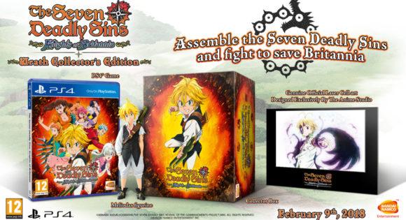 The Seven Deadly Sins: Wrath Collector's Edition Announced