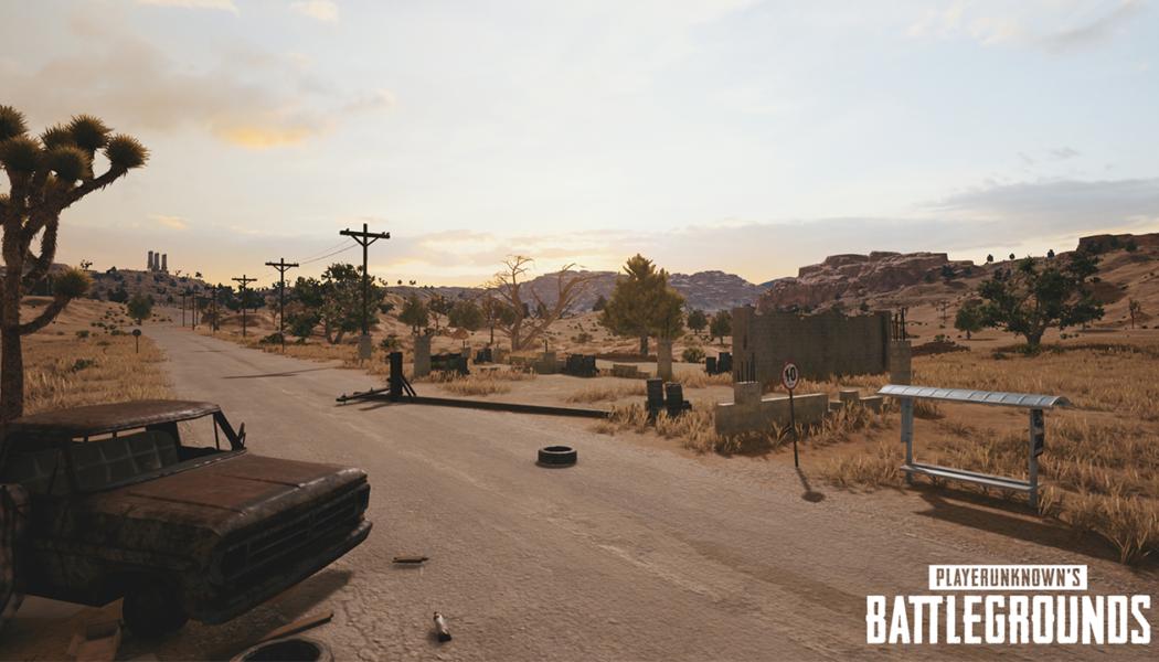 Five Screenshots Of The Upcoming PUBG Desert Map