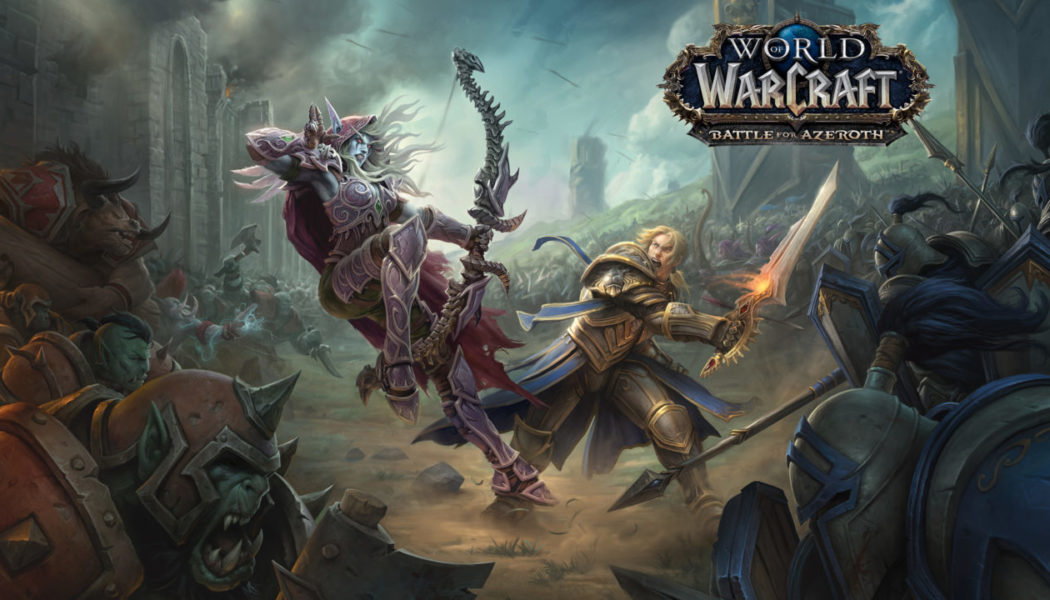 WOW: Battle Of Azeroth Revealed at Blizzcon 2017