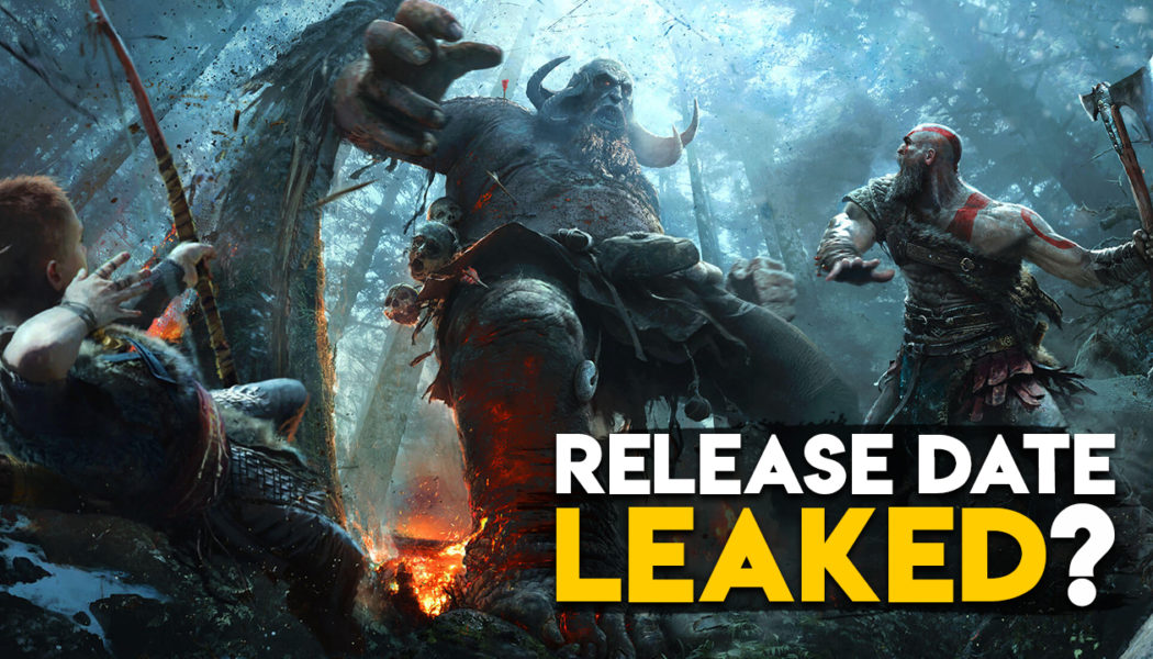 God Of War 4 Release Date Leaked?