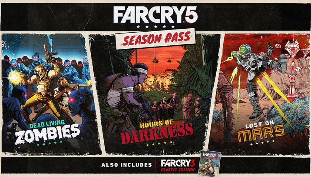 Far Cry 5 Season Pass Announced, Includes Far Cry 3 Classic Edition