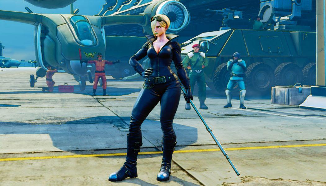 Street Fighter V: Arcade Edition Adds Falke on April 24