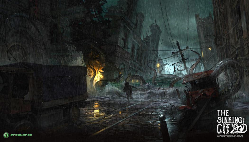 The Sinking City Teaser Trailer – Lovecraft-inspired Open Investigation Thriller