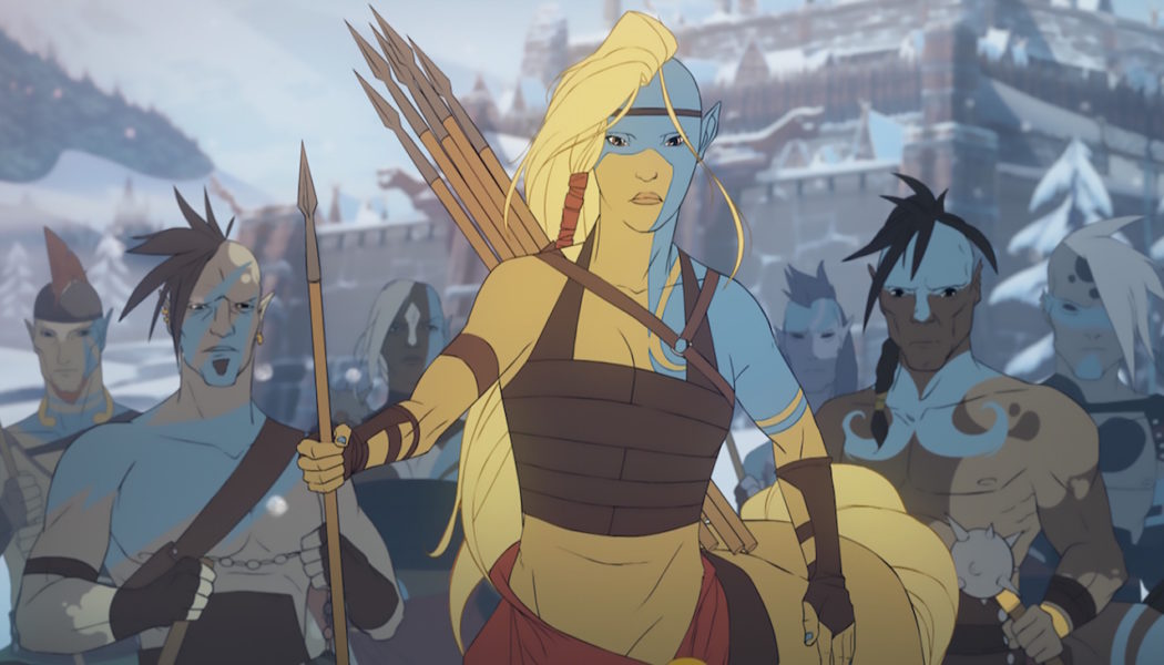 Banner Saga 3 Vignette Trailer Series: Horseborn, the Race of Legend