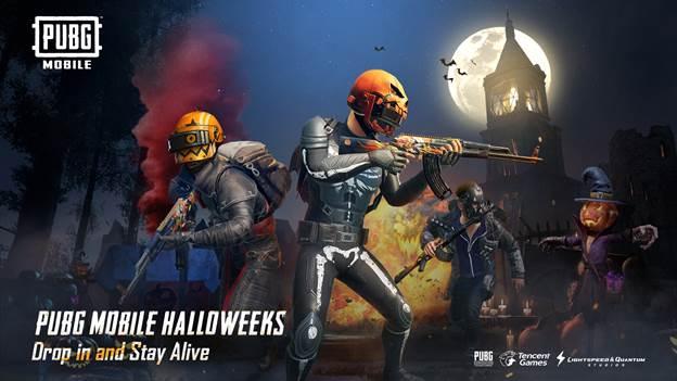 PUBG Halloween Update is here!