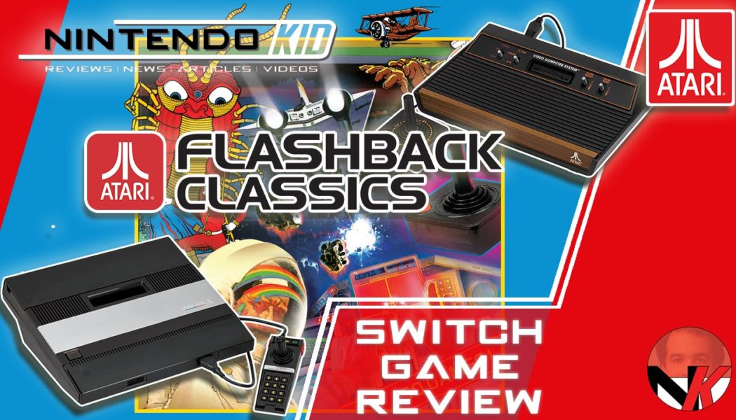 Atari Masterpieces on your Nintendo Switch! Flashback Classics Review
