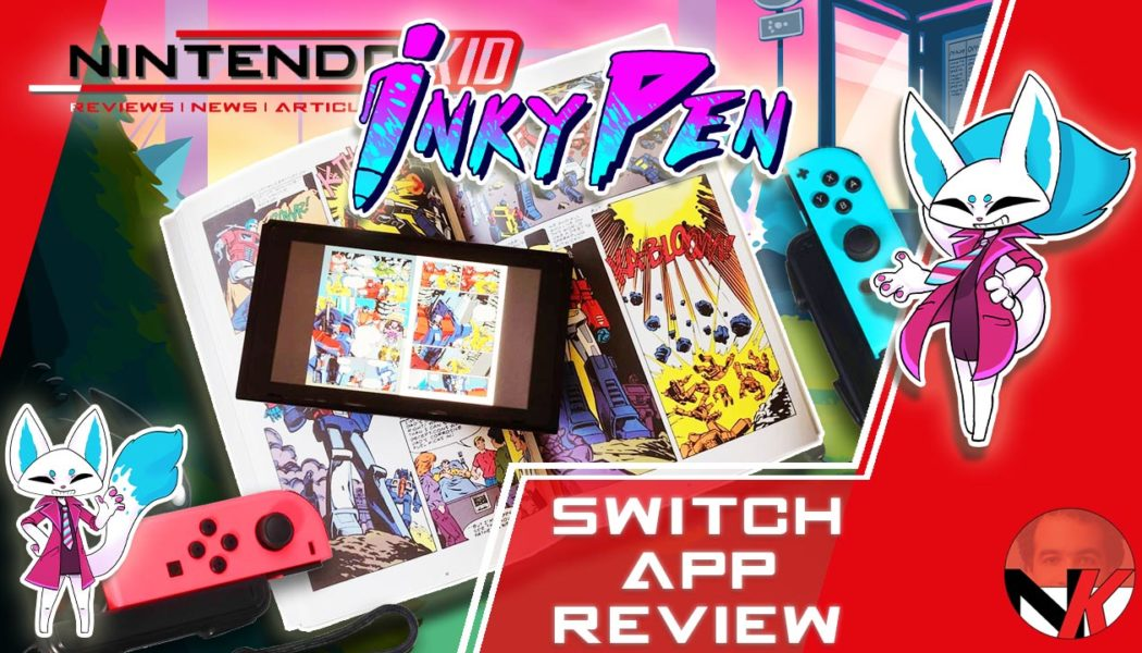 InkyPen Comics on your Nintendo Switch ! Marvel ? DC Comics ? Transformers ? Let's dig through it!