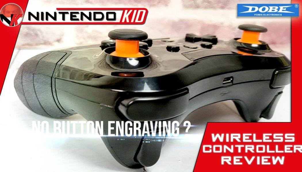 DOBE Wireless Nintendo Switch Pro Controller – Accessory Review