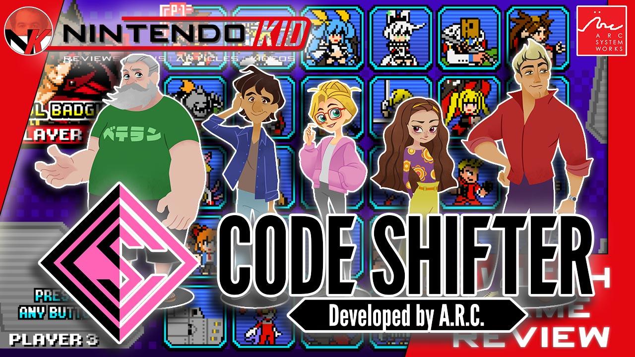 Super Smash Bros 2 0 Code Shifter Nintendo Switch Review Guilty Gear Vs Blazblue Vs Kunio Kun Gaming Central