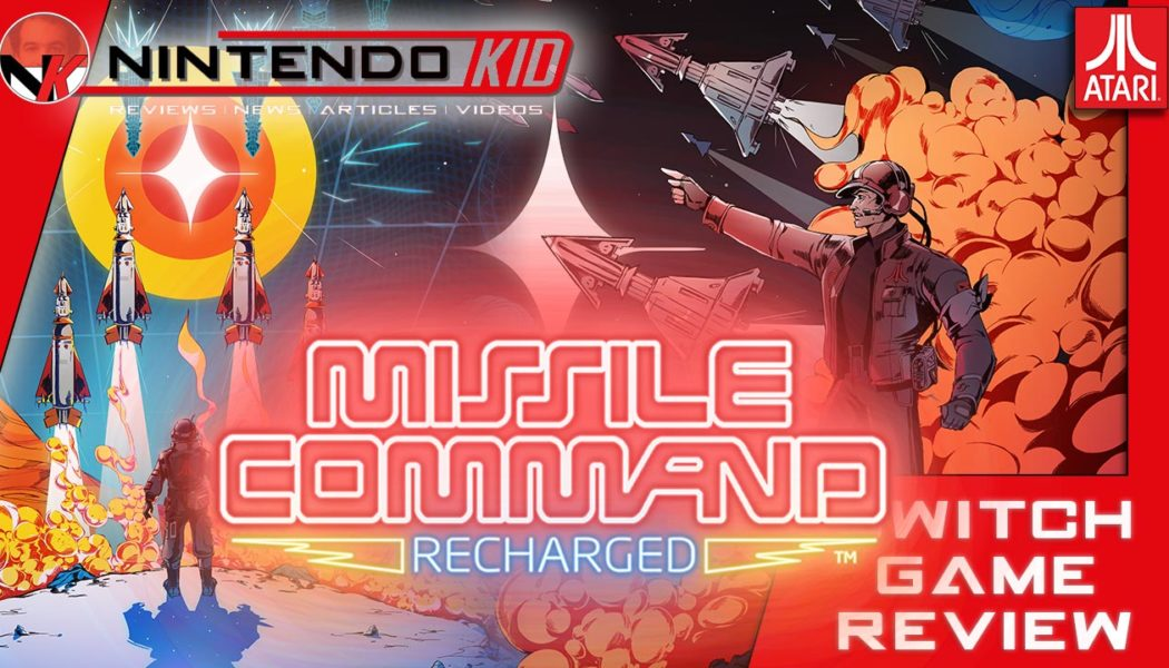 Atari Missile Command 40th Anniversary Celebration & Nintendo Switch Game Review!