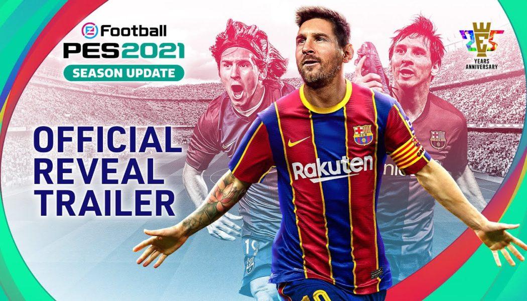 Konami Announces eFootball PES 2021 Season Update, Available From September 15
