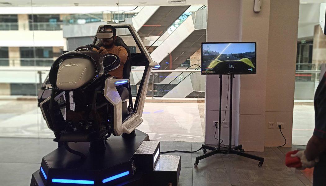 Supercool VR Car Experience at Microgravity Gurgaon